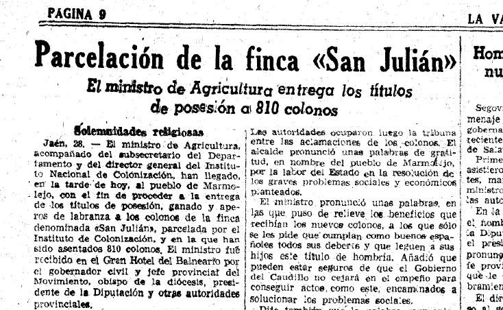 Parcelas San Julian