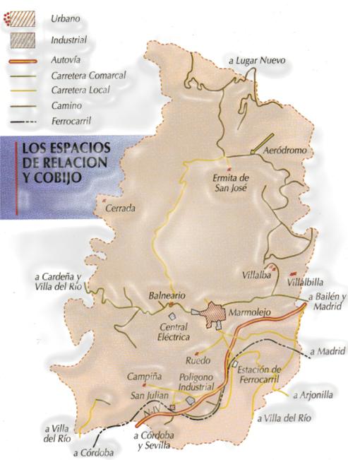 Término Municipal de Marmolejo
