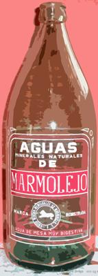 Botella de Agua de Marmolejo