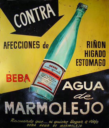 Cartel de Agua de Marmolejo