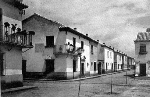 Barrio de Regiones y Plaza Virgen de la Cabeza tras su construcción