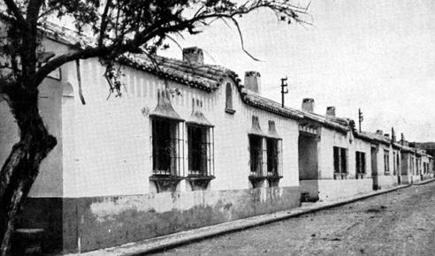 Barrio de Regiones tras su construcción