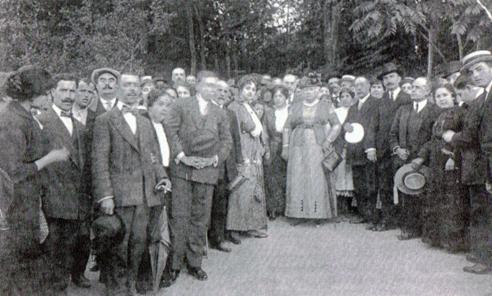 Visita de la Infanta Isabel de Borbón a Marmolejo el 22 de octubre de 1915