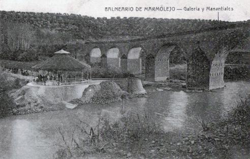 Balneario de Marmolejo - Vista Antigua