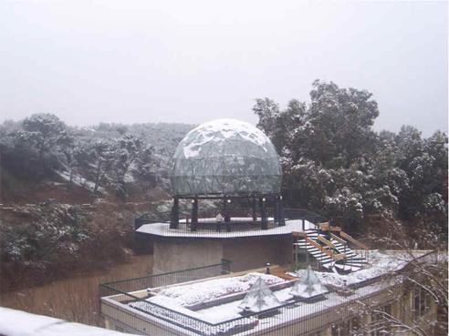Balneario de Marmolejo nevado
