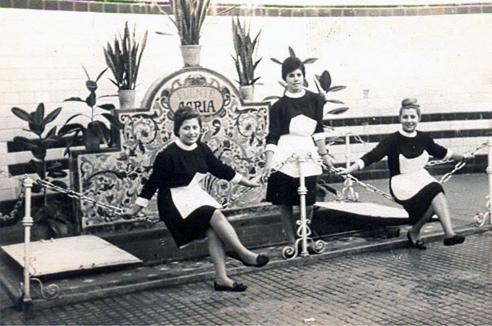 Fuente Agria de Marmolejo - Años cincuenta