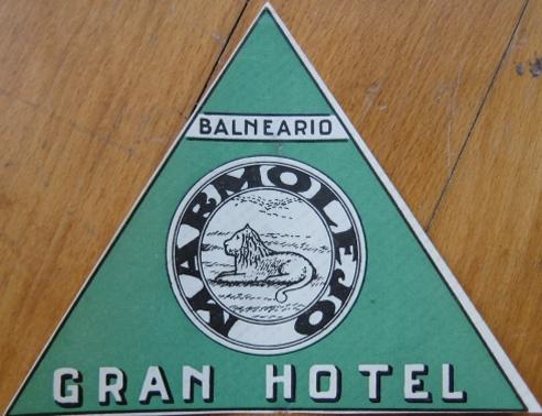 Pegatina promoción Gran Hotel