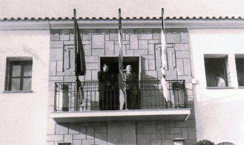 Franco en la Granja Escuela de Marmolejo