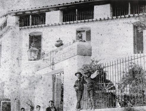 Hotel los Leones - Marmolejo 1875