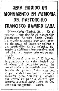 Marmolejo - Ramiro Lara El Pastorcillo