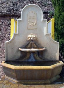 Fuente del Pantano del Yeguas