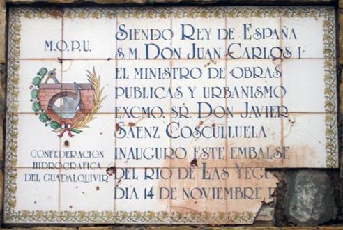 Placa Pantano del Yeguas