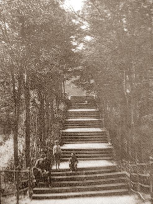 Escalinatas del Parque del Balneario de Marmolejo