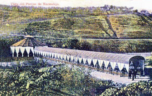 Galería de los Manantiales del Balneario de Marmolejo