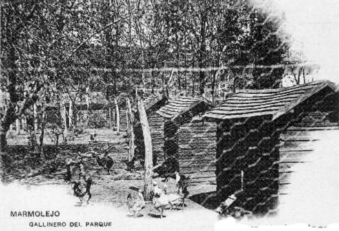 Gallinero del Parque del Balneario de Marmolejo