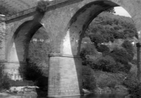 Antiguo Puente que cruzaba el rió Yeguas en Marmolejo